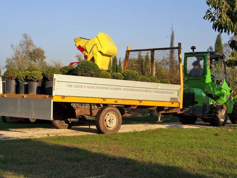 furgone giardiniere