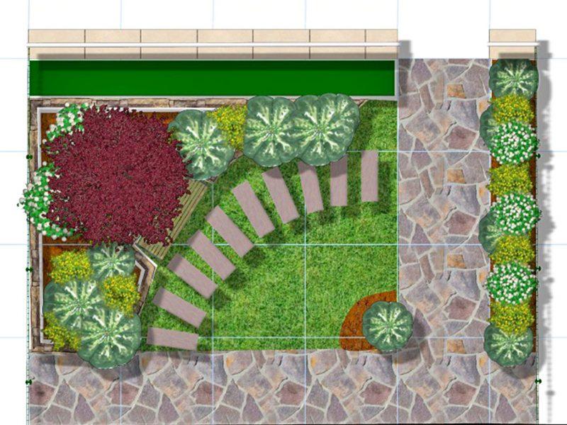 progetto tecnico giardino