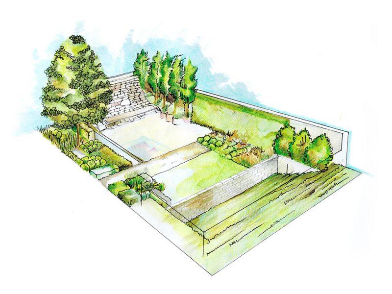 progettazione artistica giardino
