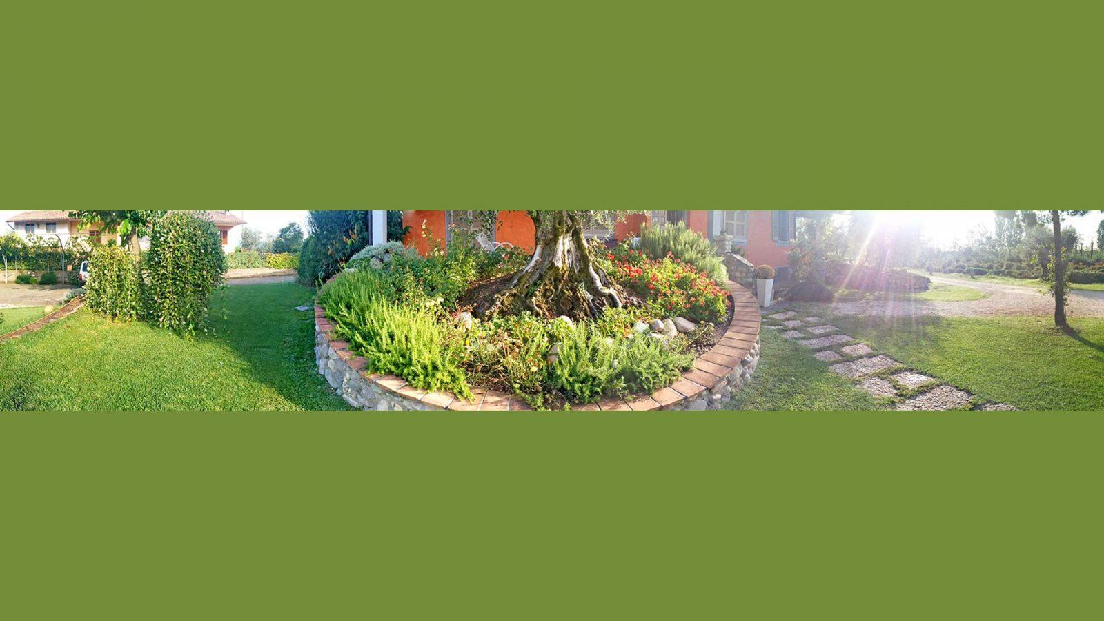 spazio verde privato